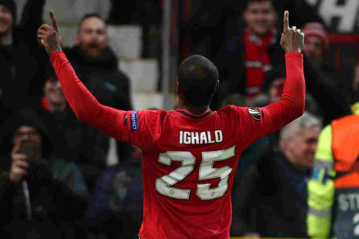 Ighalo in Manchester United - Znebs