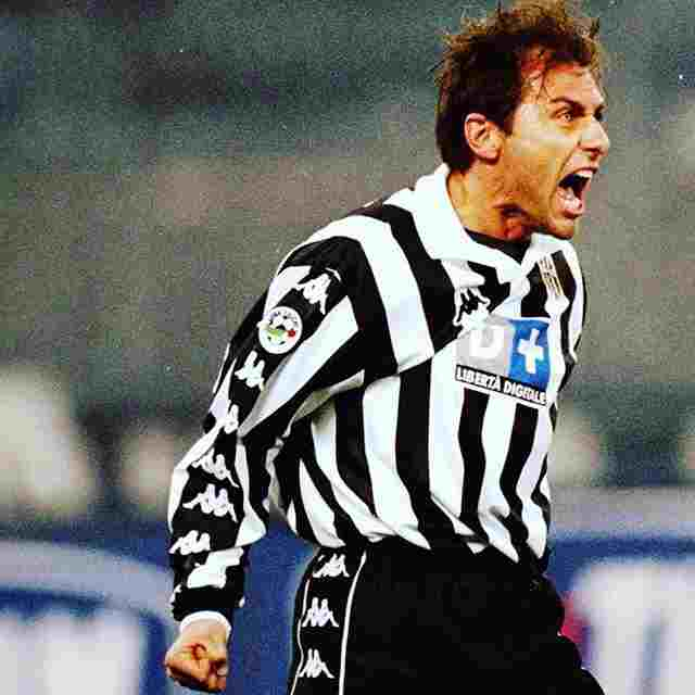 Antonio Conte as a Player- Znebs
