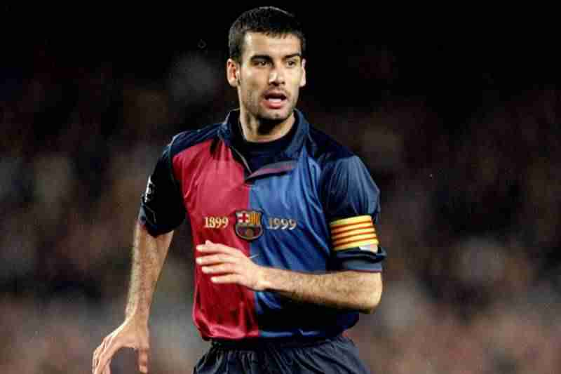 Pep Guardiola as a Player- Znebs