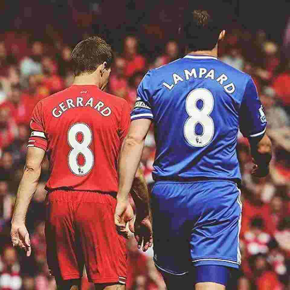 Lampard and Gerrard as a Player- Znebs