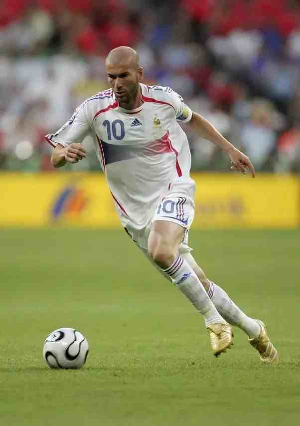 Zinedine Zidane as a Player- Znebs