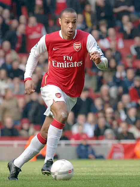 Theirry Henry as a Player- Znebs