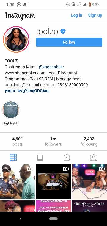 Tool deletes husband name from Instagram profile - Znebs