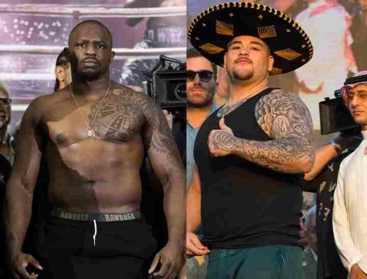Dillian Whyte and Andy Ruiz - Znebs