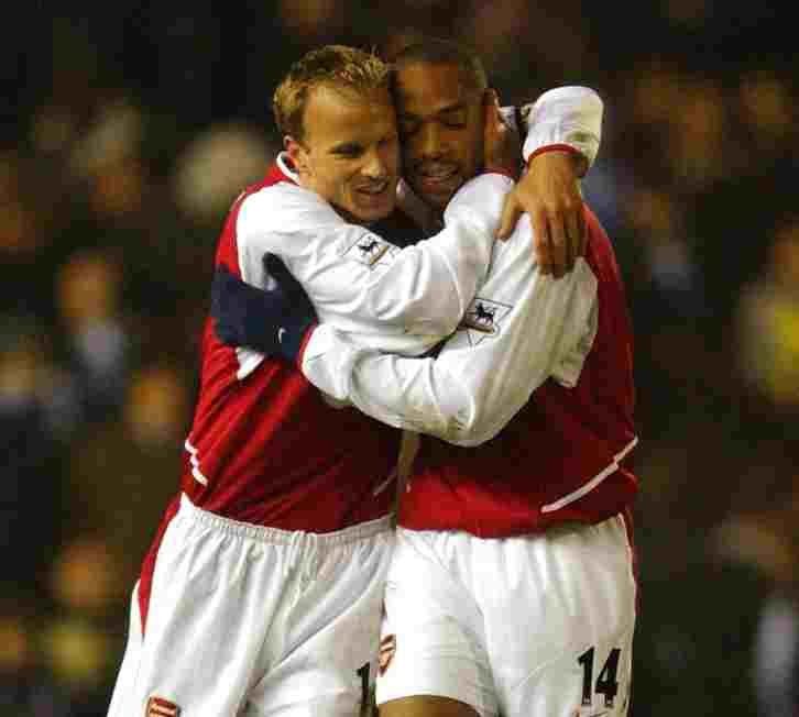 Thierry Henry and Dennis Bergkamp - Znebs